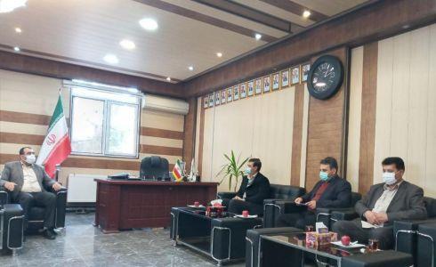 نشست مشترک شهردار سلماس و رئیس کمیته امداد امام خمینی(ره)