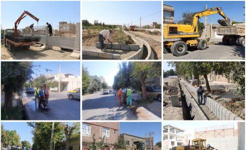 تداوم فعالیتهای عمرانی و خدماتی شهرداری سلماس   سهشنبه مورخه ٢٣ شهریور ١۴٠٠